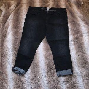 AVA&VIV skinny black jean